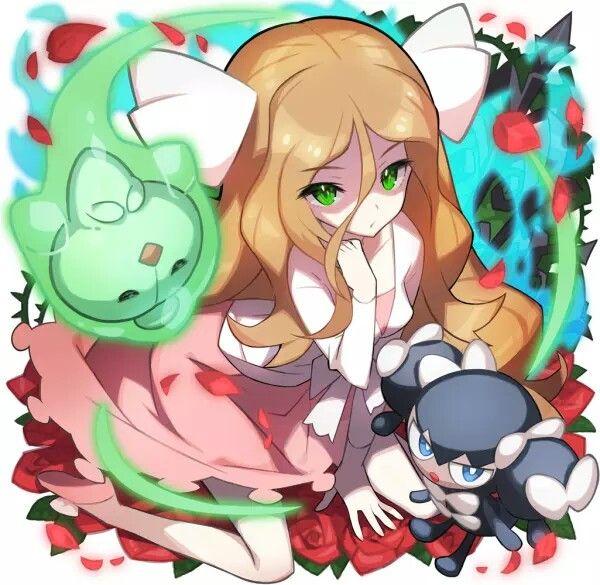 Duosion Gijinka Pokémon Cattle...