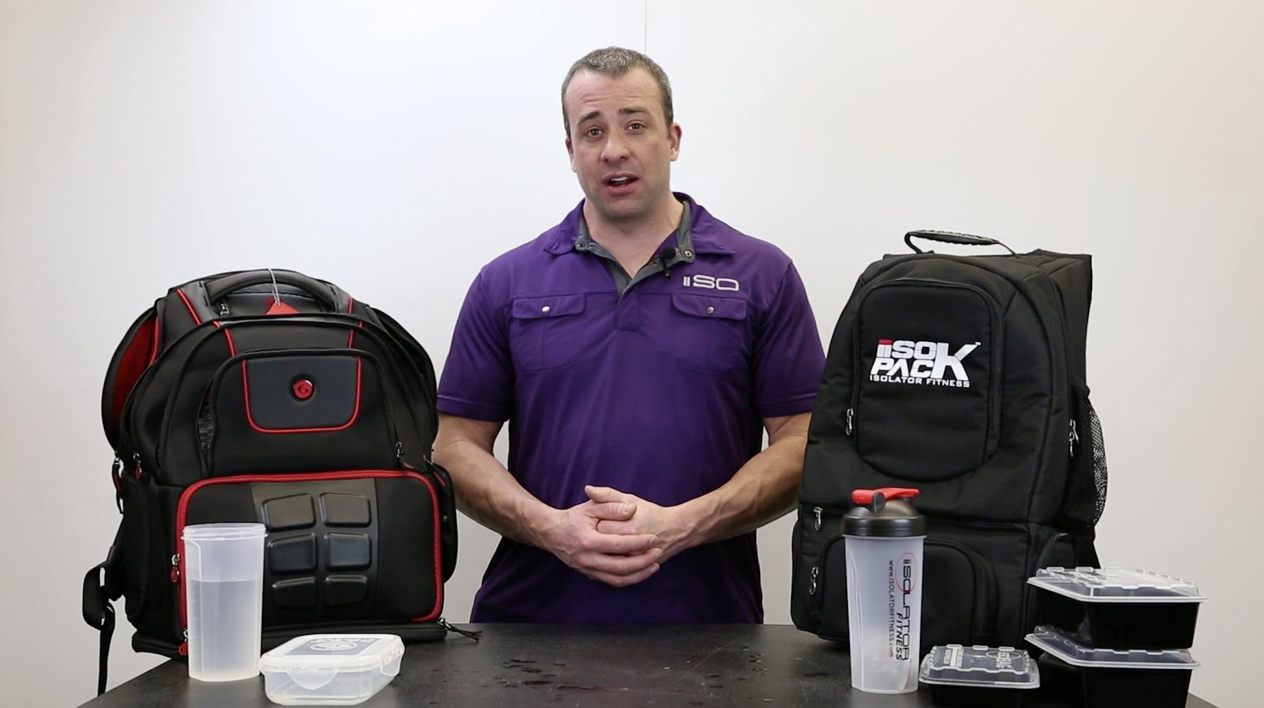 6058e8e5cab1 Great video comparing the Isolator Fitness Isopack vs 6 Pack Elite Voyager
