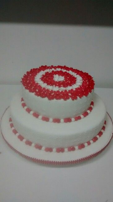 tortas de comunion con florecitas