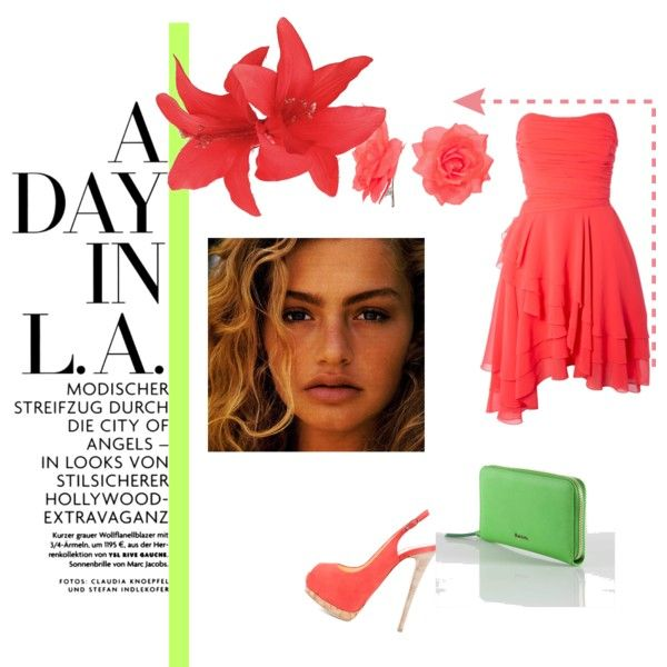 A DAY IN L.A., created by cher-delia on Polyvore