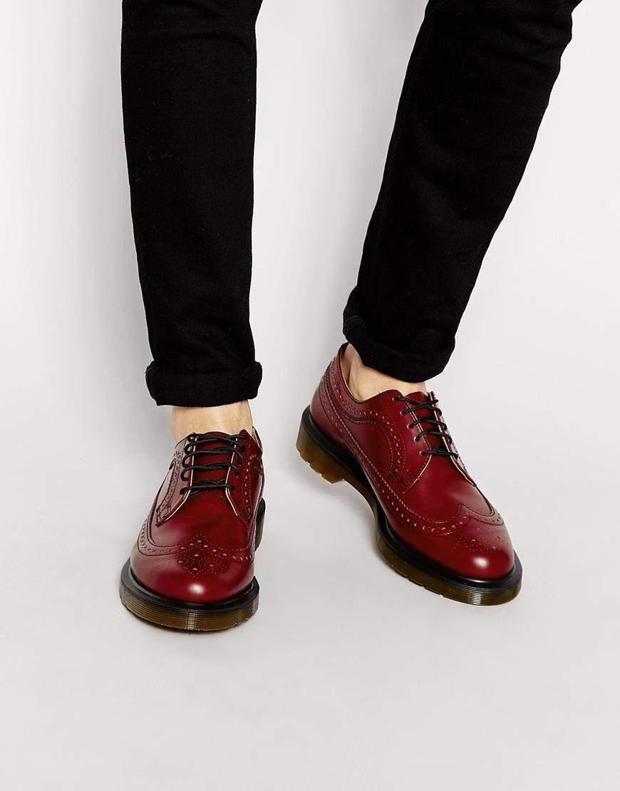 Men's Brogue Boots by Dr. Martens | Men's Fashion