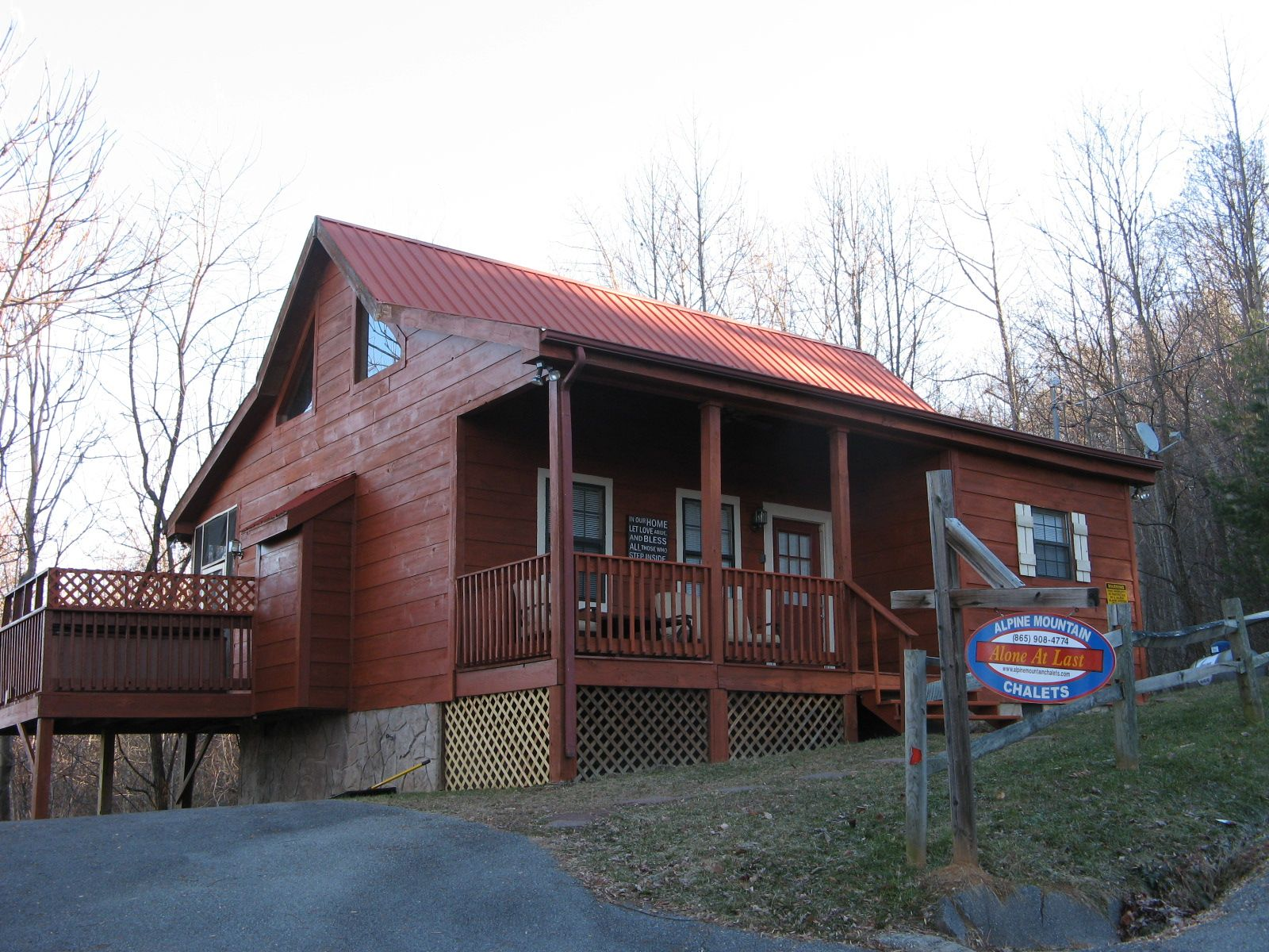Gatlinburg and Pigeon Forge Cabins at Alpine Mountain
