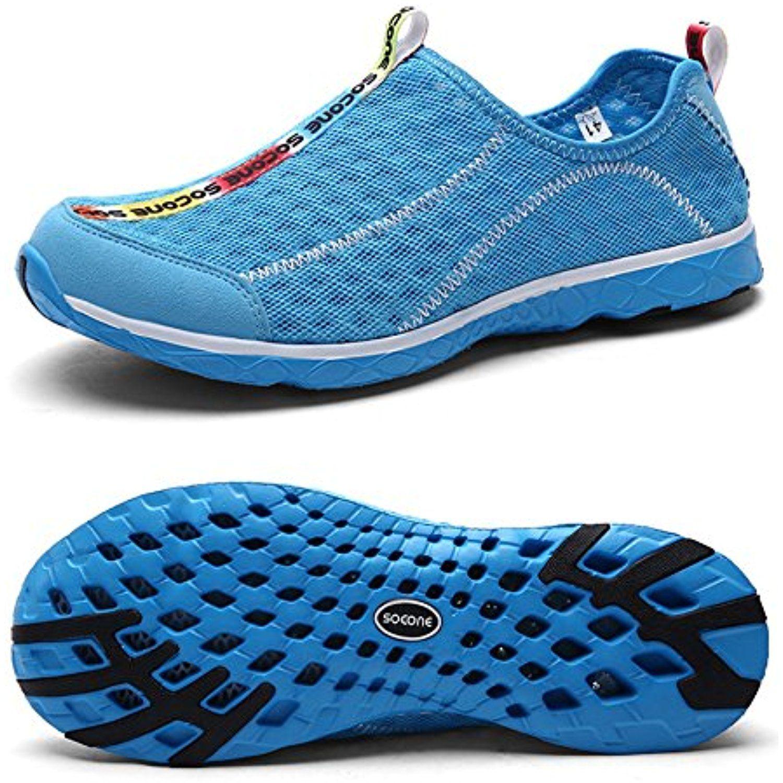 Women's Mesh Aqua Water Shoes Lightweight Quick Drying Walking Shoe