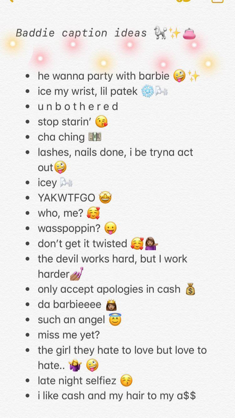 Baddie Instagram Captions Inspo 2019 Instagram Bio Quotes Instagram Quotes Instagram Quotes Captions
