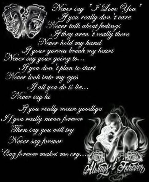 Gangster Love Quotes: Gangster Love Poems For Him