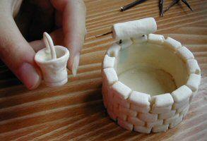 Recette p te sel avec sel dissout dans l 39 eau d 39 abord bricolage pinterest recette pate - Comment faire de la pate a sel ...