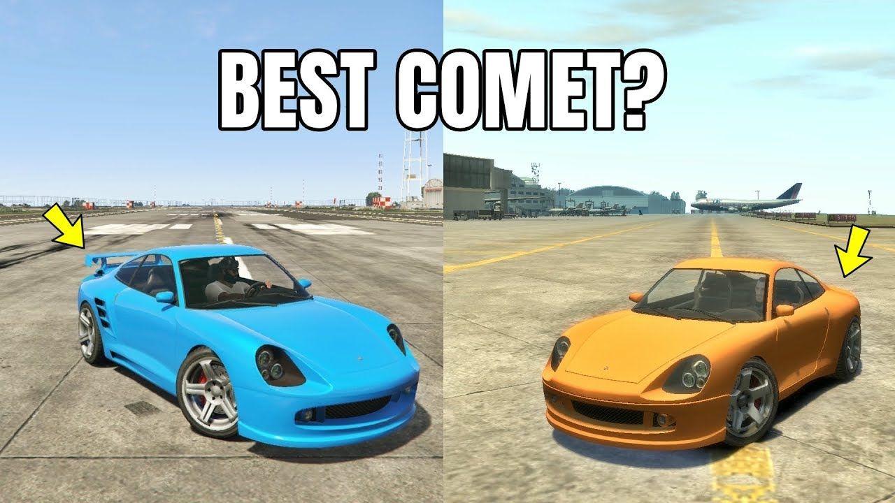 Gta 5 Online Gta 5 Comet Vs Gta 4 Comet Which Is Best Gta 5