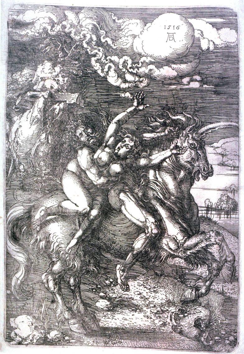 Renaissance | Albrecht Dürer | Abduction of Persephone ...