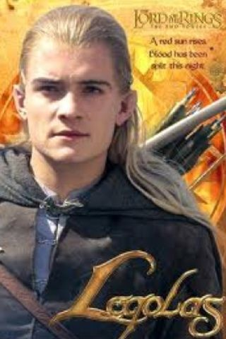 Orlando Bloom (preferably with the blonde wig and elf ears!!)