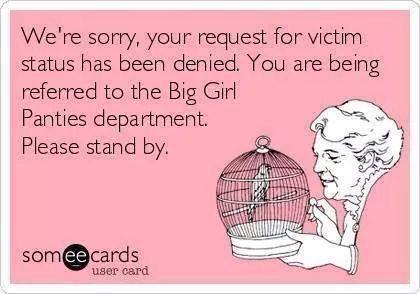 Perpetual victim