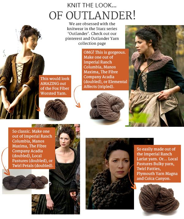 We Are Obsessed With The Knitwear In The Starz Series 'Outlander Amazing Outlander Crochet Patterns