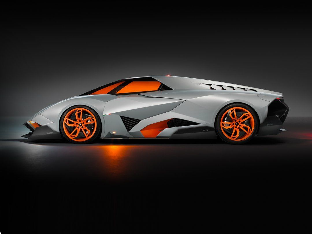 Lamborghini Egoista   The Car Thats Inspired By An Apache Helicopter    Esquire