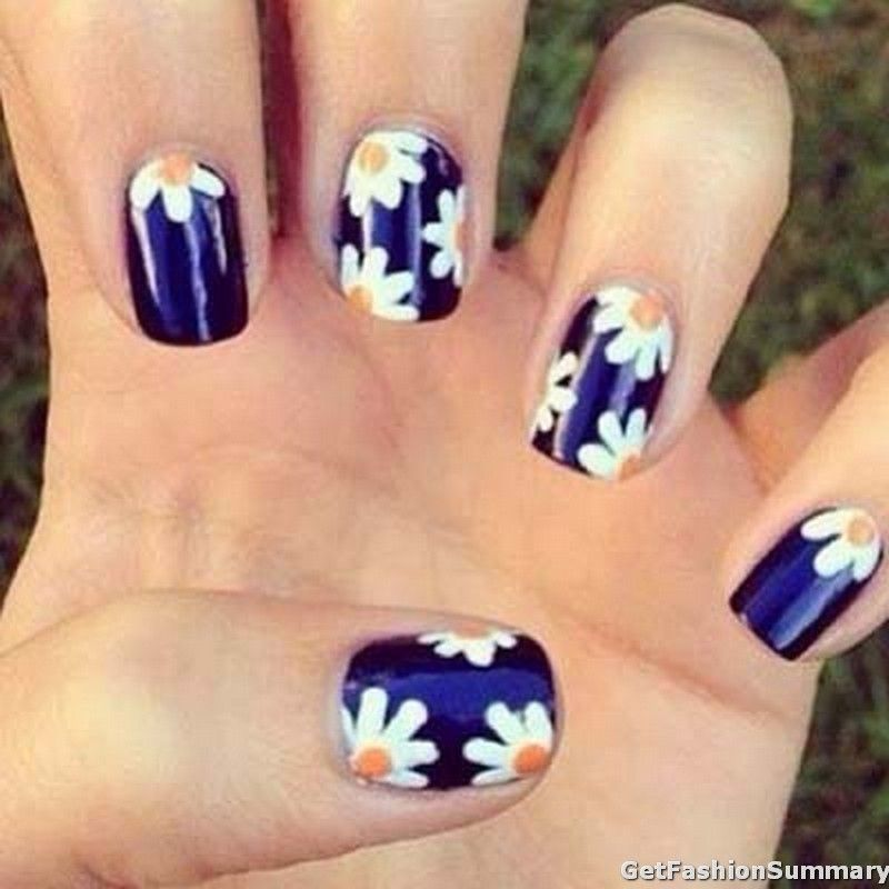 Trendy Nail Art Tumblr Amazing Nails Art Ideas Nails Daisy