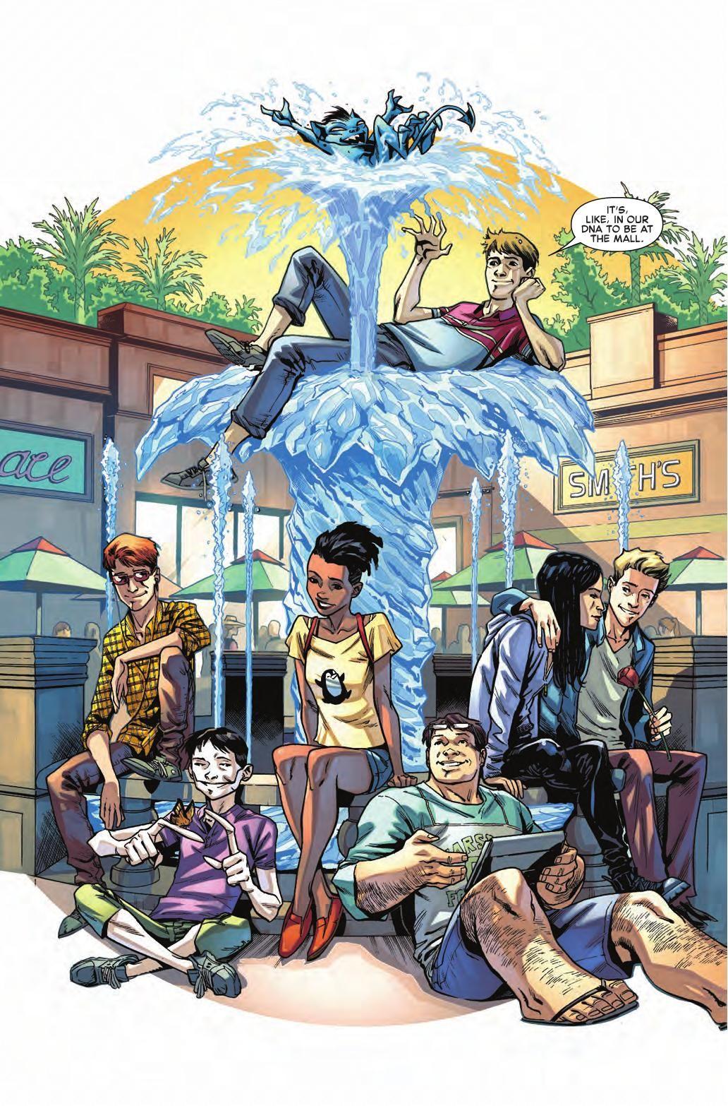 Preview All New X Men Annual 1 Story Sina Grace Rex Ogle Art Cory Smith Cover Cory Smith Publisher Marvel Publication Date N Comics X Men Xmen Comics