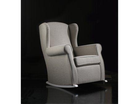Si buscas una silla mecedora de lactancia para tu hogar esta butaca con orejeras de tipo - Sofa lactancia ...