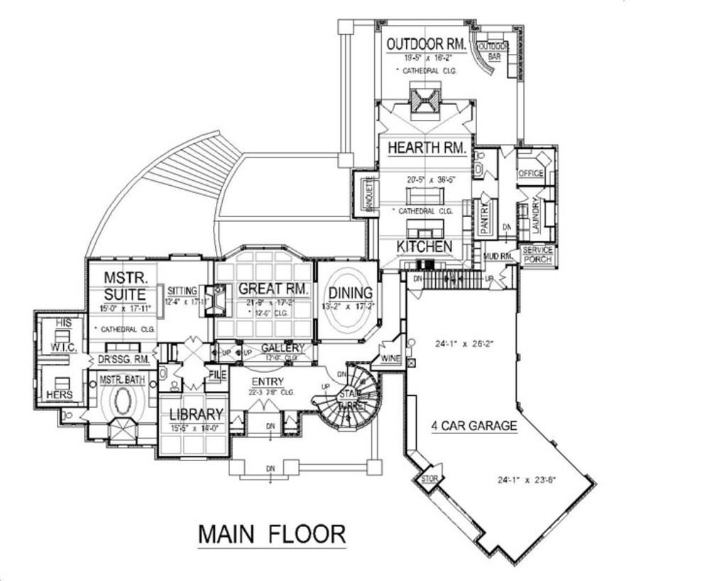 European Style House Plan 4 Beds 6 Baths 9032 Sq Ft Plan 458 2 Luxury House Plans House Plans Mansion Floor Plan