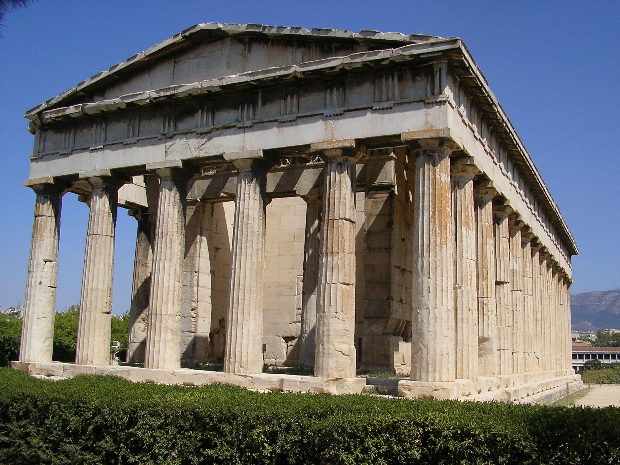Some Greek Architecture That May Be Influential For The Well Scene