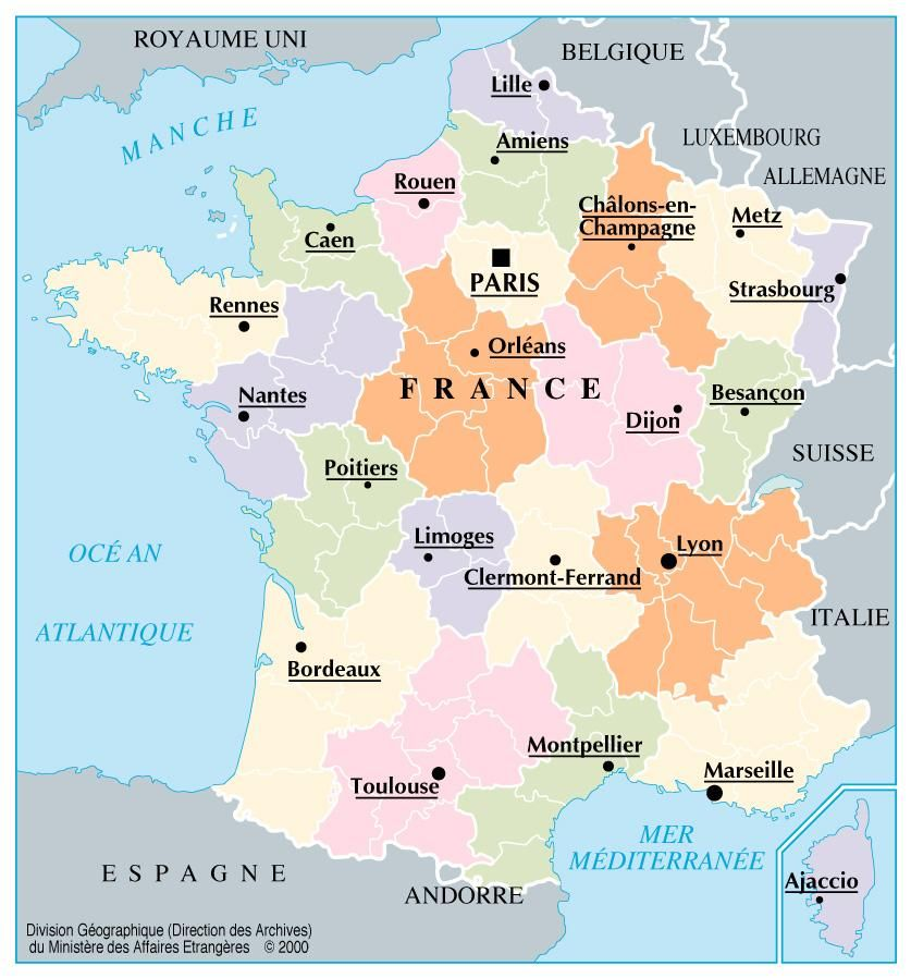 Mapa Grande De Francia Con Division Politica Buscar Con Google