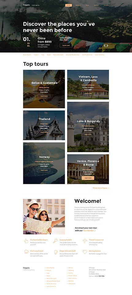 Blog Website Templates Travel Blog #website #template#themes #business #responsive