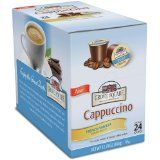 Grove Square Cappuccino, French Vanilla, 24-Count Single Serve Cup for Keurig K-Cup Brewers - http://www.freeshippingcoffee.com/k-cups/grove-square-cappuccino-french-vanilla-24-count-single-serve-cup-for-keurig-k-cup-brewers/ - #K-Cups