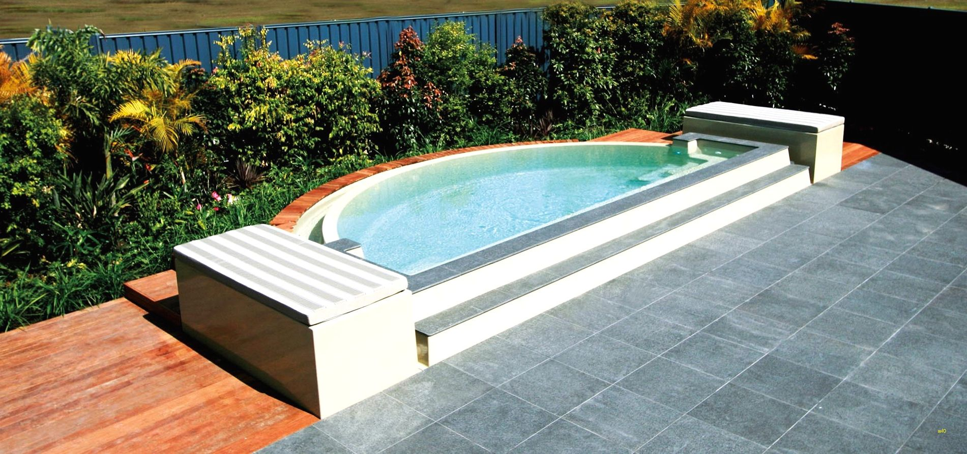 9 Inspiring Above Ground Pools For Small Backyards Collection