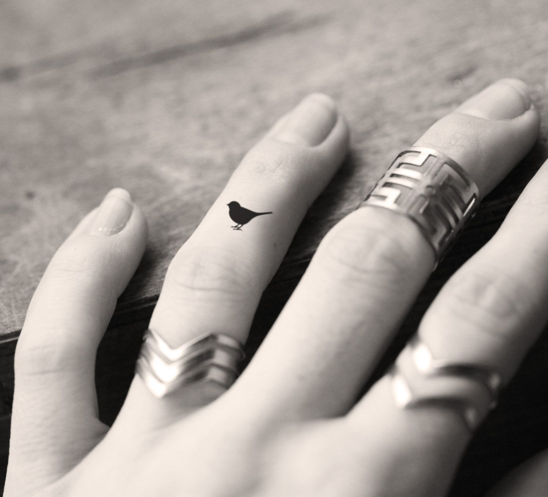 bird micro tattoo Google Search Tiny bird tattoos
