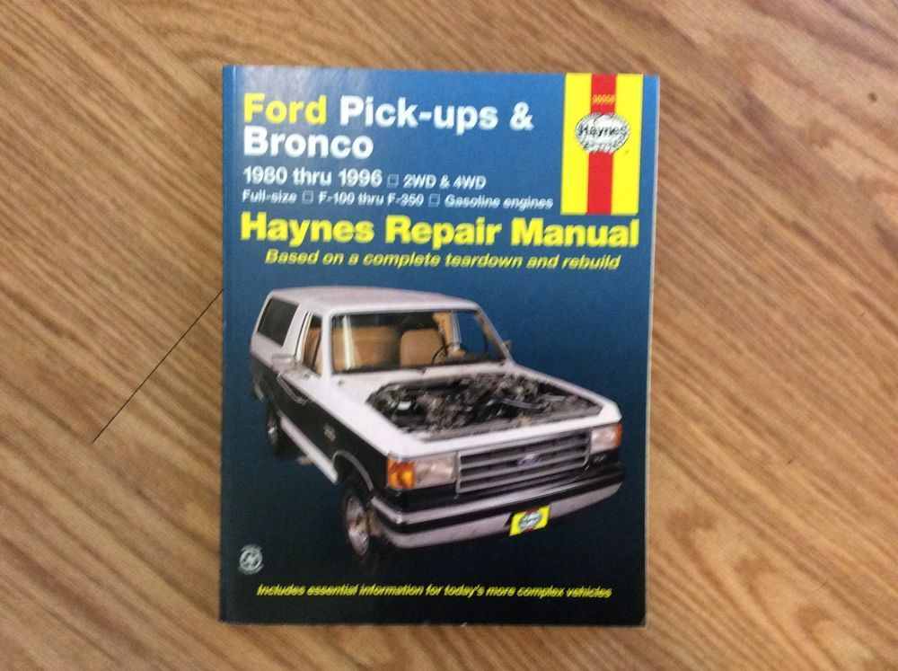 1986 Ford F150 Repair Manual - Complete Wiring Diagrams •