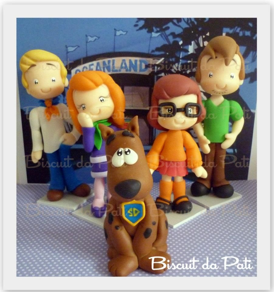 Scooby doo scooby doo pinterest fimo pate - Scoubidou personnages ...