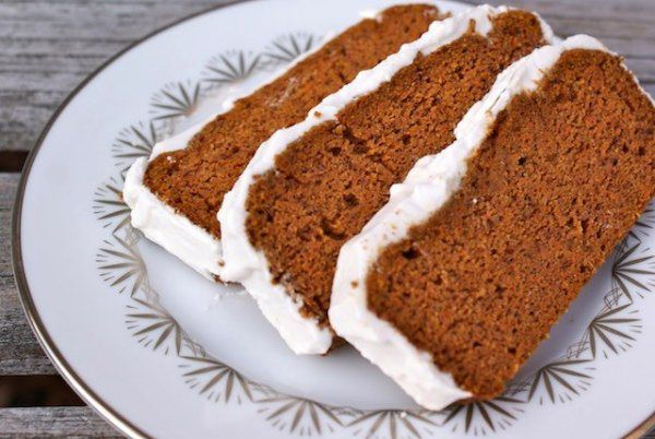 Grain-Free Carrot Cake with Coconut Cream Icing