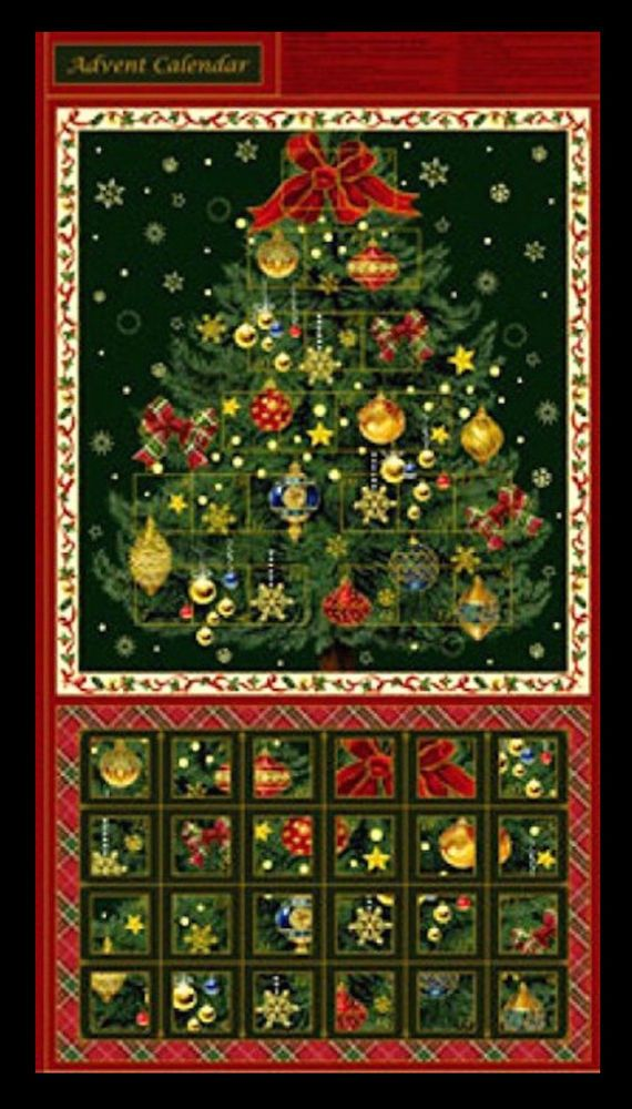 Seasons greetings fabric panel christmas holiday advent calendar seasons greetings fabric panel christmas holiday advent calendar cotton new diy crafts fabric ebay m4hsunfo