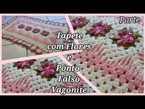 Tapete Amor do Interior Retangular /parte 1 . Por Vanessa Marcondes . - YouTube