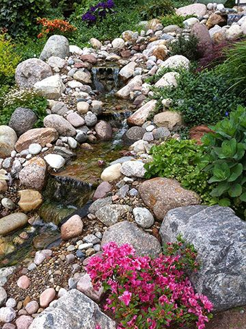Teiche bachl ufe quellsteine und becken von koch garten und landschaftsbau garten - Wasserteich im garten ...