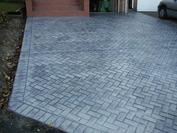Elegant Herringbone Brick Patio Photo 20545 Design Ideas Res: Added On ,  Tagged : At Richard Architecture