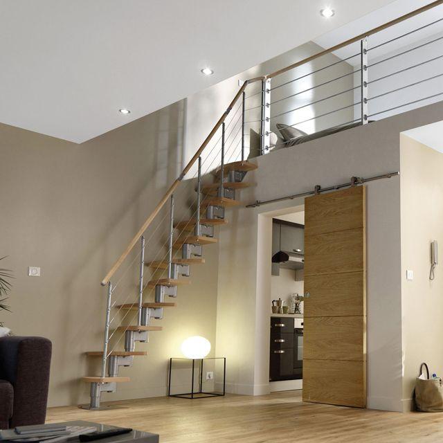 Escalier À Pas Alternés Inversio - Castorama | Idées Nouvelle