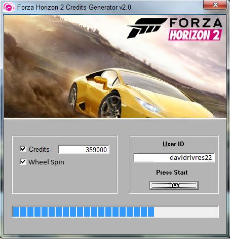 Forza Horizon 2 Hack Cheats 2016 download windows, iOS, apk