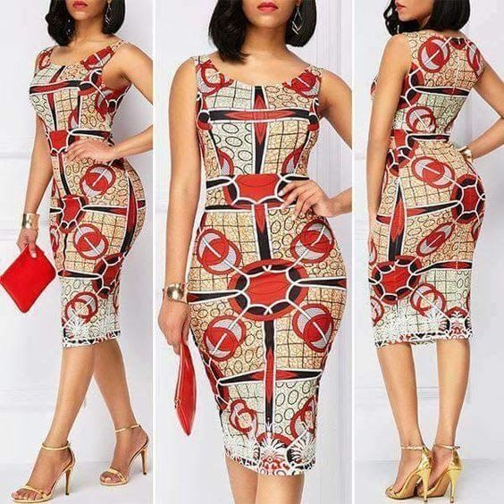 Simple, Trendy and Fashionable Ankara Short Gowns for Stylish Ladies ...