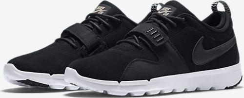 info for b684f 22c12 Nike SB Trainerendor L Mens Shoes 9 Black White 806309 002 #Nike  #Skateboarding