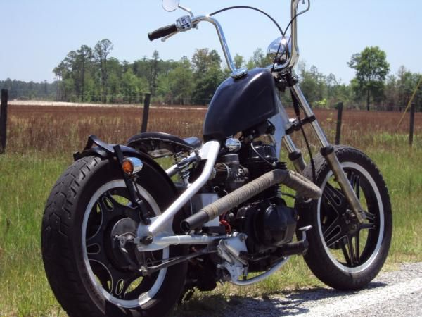 Honda CM400 CLC Bobber Straight Pipes Rigid | Bikes | Custom bikes