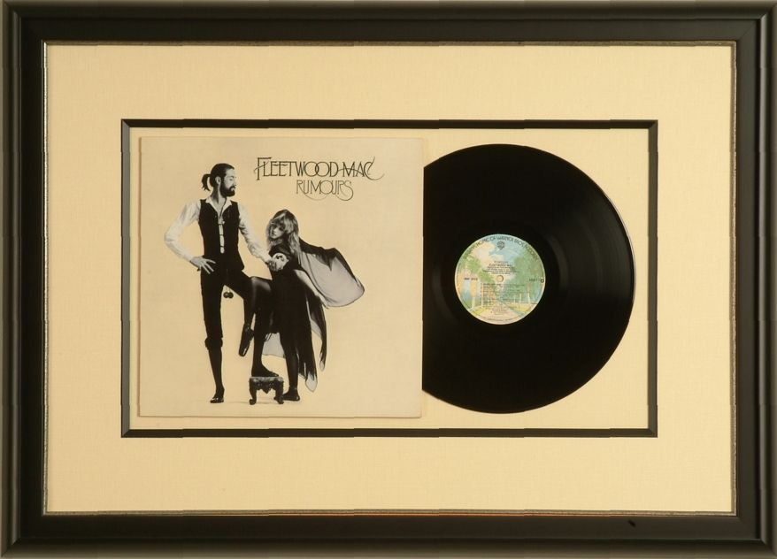 Framing old records and covers. | Picture Framing Ideas | Pinterest