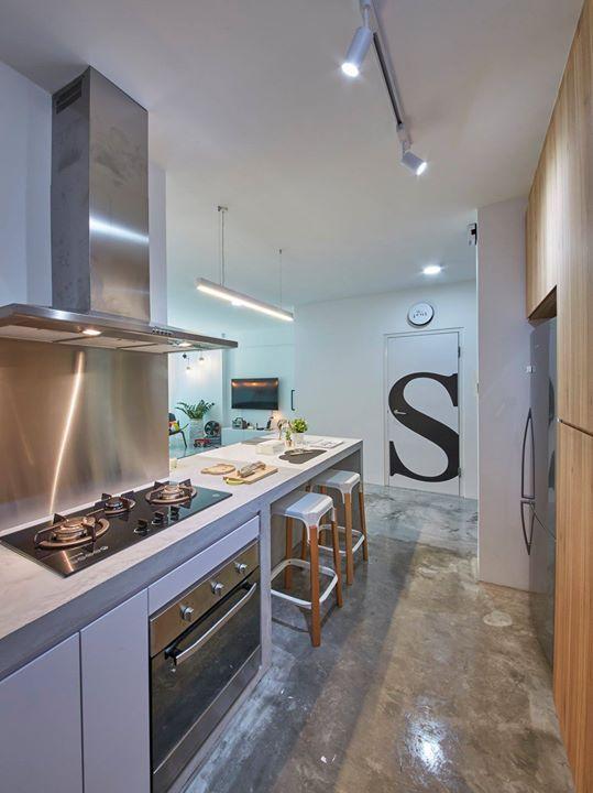 Bto kitchen singapore interior design in home also rh pinterest