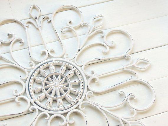 White Christmas/ Snowflake / Gift Idea / Wall Decor / Metal Wall ...