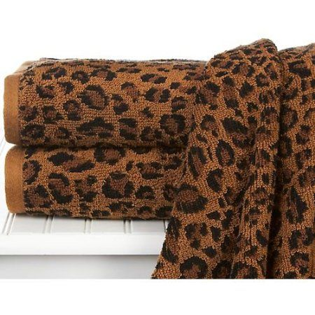 Amazon Com Leopard Print Bath Towel Home Kitchen Bath Towels Towel Leopard Print