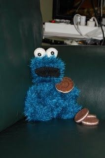 Amigurumi Cookie Monster Pattern : Cookie Monster Amigurumi - FREE Crochet Pattern and ...