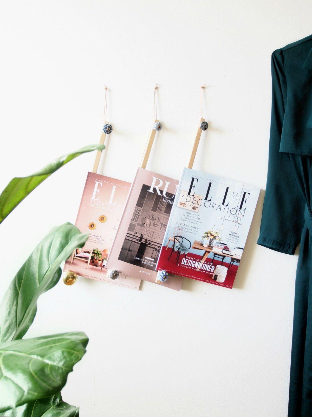 diy magazine hangers | organizati☺️n | pinterest | zeitungsständer