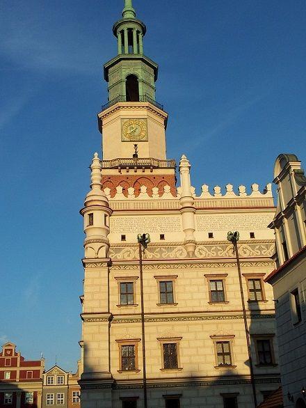 Council house in Poznan, Poland