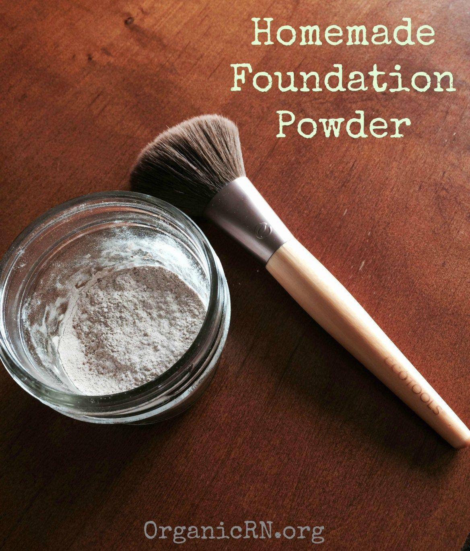 Homemade nontoxic foundation powder Homemade foundation