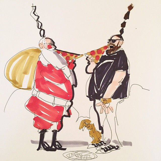 Donald Drawbertson. #christmas