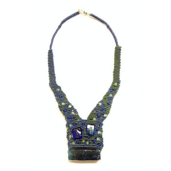 Hebron mosaic necklace nr. 357