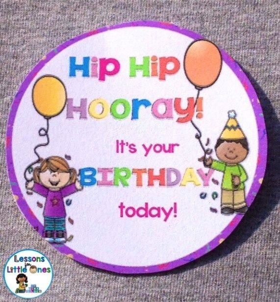 Birthdays in the Classroom & Ideas for Student Birthday Gifts -Celebrating Birthdays in the Classro