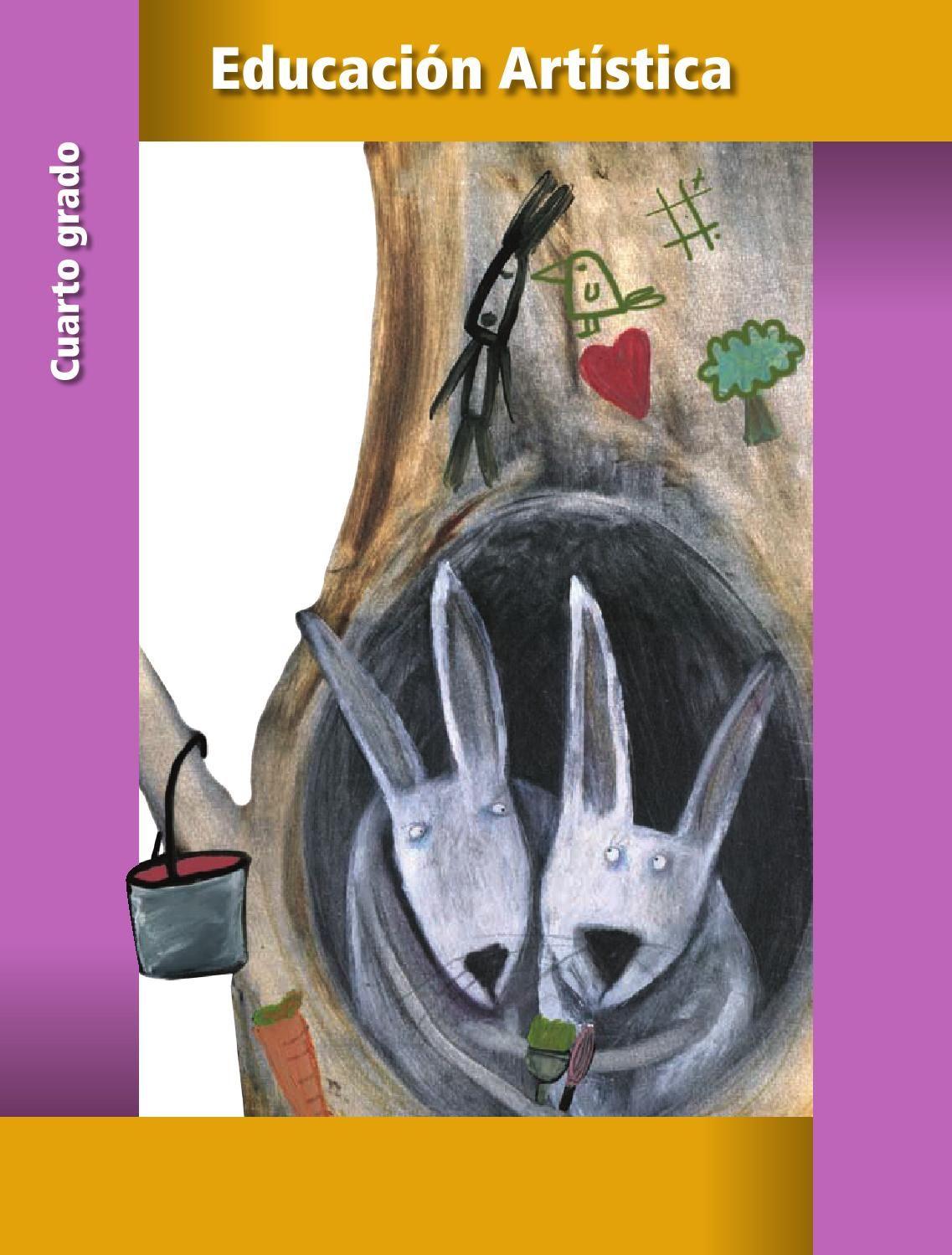 Educación Artística 4 | Libro de texto, Educación artística y ...